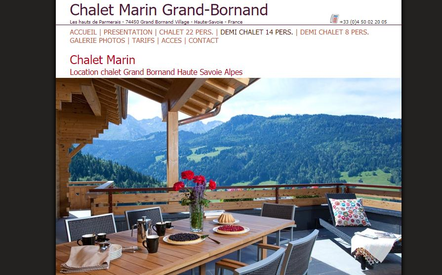 LOCATION LE GRAND BORNAND
